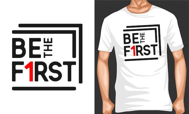 Быть первыми типографскими цитатами