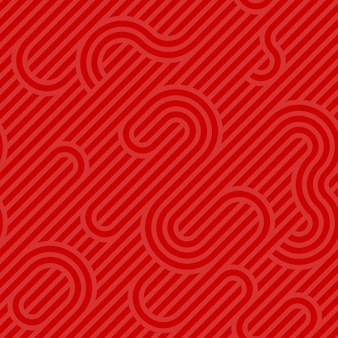 Красный фон с рисунком