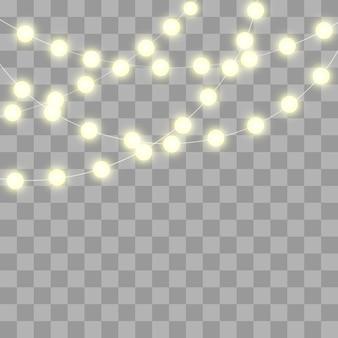 きらびやかな電球