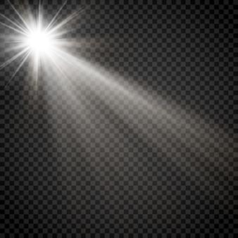 輝く星の光