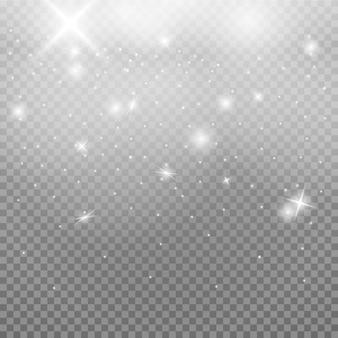 透明な背景のスペースダスト