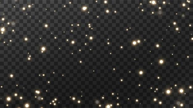 Сверкающая магическая пыль текстурный черный фон.