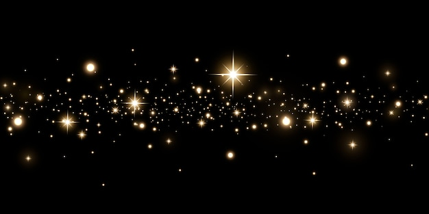 輝く魔法のほこりの背景