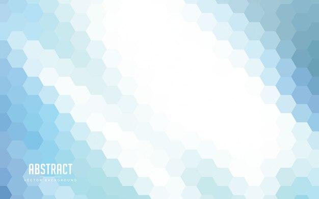 カラフルな抽象的な背景六角形グラデーション