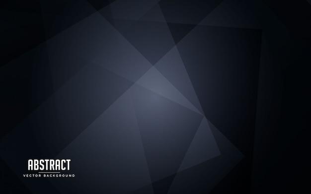 抽象的な背景の幾何学的な黒とグレーの色