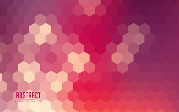 Абстрактный фон градиент шестиугольник красочный