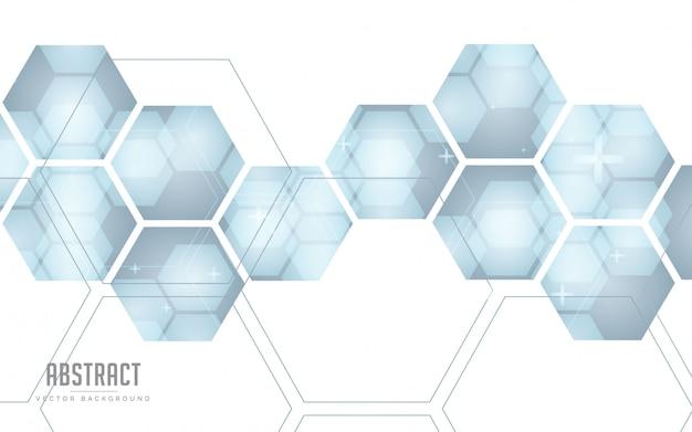 グレーと白の色と幾何学的な抽象的な背景