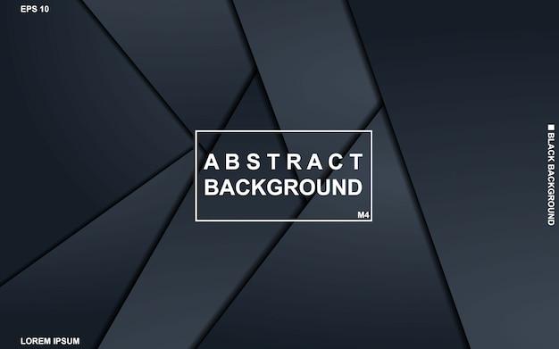 黒と青の幾何学模様の最小限のモダンな暗いの抽象的な背景。