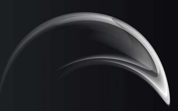 抽象的な背景モダンなグラフィックブラックカラーとグレー色