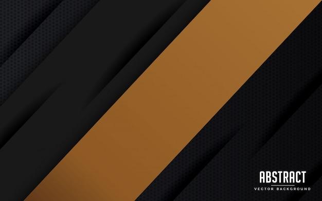 抽象的な背景の幾何学的な黒とグレーの色モダン