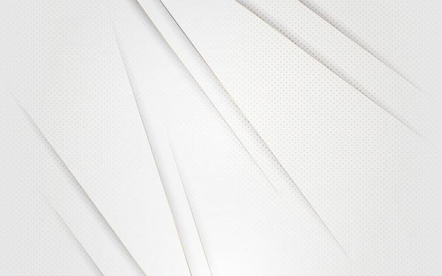 抽象的な背景の白い色とゴールドの豪華なモダンなデザイン