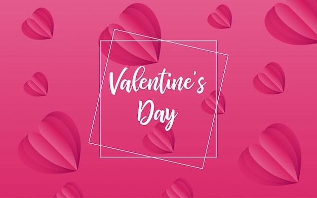 バレンタインの日の概念の背景現代