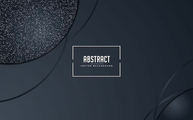 Абстрактный фон черный и серый с блестками серебра