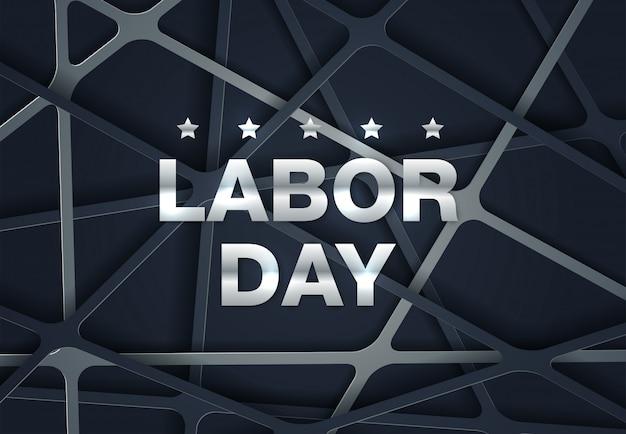 労働者の日カードデザイン、ベクトルイラスト