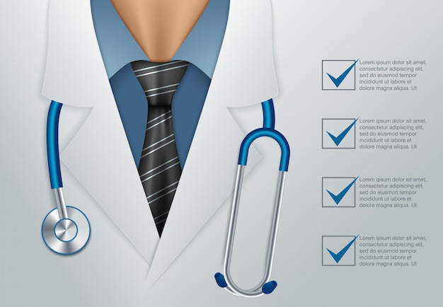 医者をクローズアップ