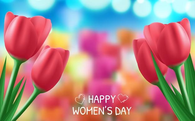 Фон для международного женского дня.