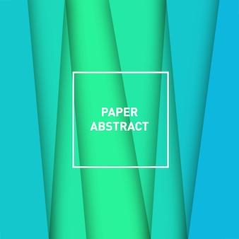 紙の抽象的な熱帯雨林
