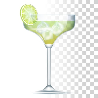 Маргарита коктейль иллюстрация