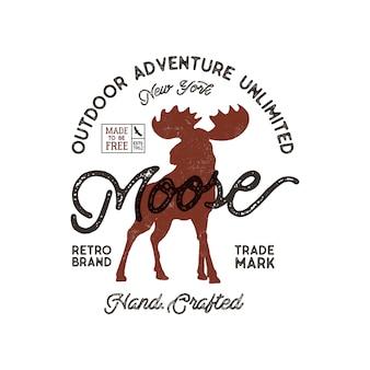 Открытый приключенческий логотип