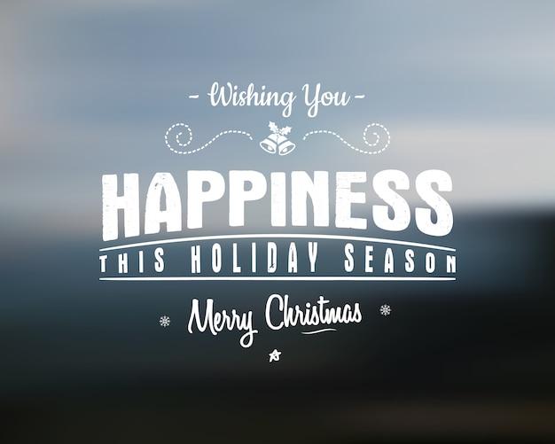 Счастливого рождества надписи. желает векторный клипарт