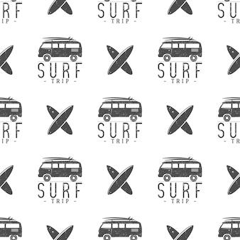 Дизайн шаблона серфинга.