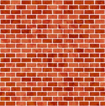 レンガの壁のシームレスなパターン背景