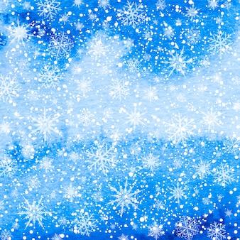 クリスマス雪冬のベクトルの背景