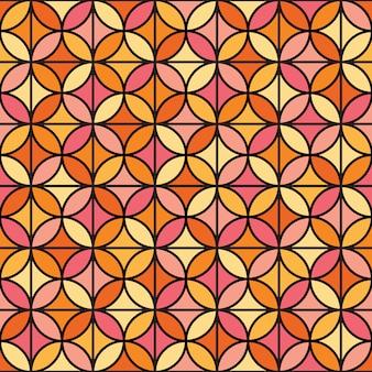 エレガントな幾何学的なシームレスパターン。