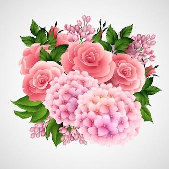 美しい花のベクトル