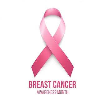 Рак молочной железы осведомленности ленты фон.