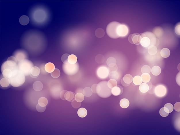 Темно-фиолетовый фон с размытия и эффект боке.