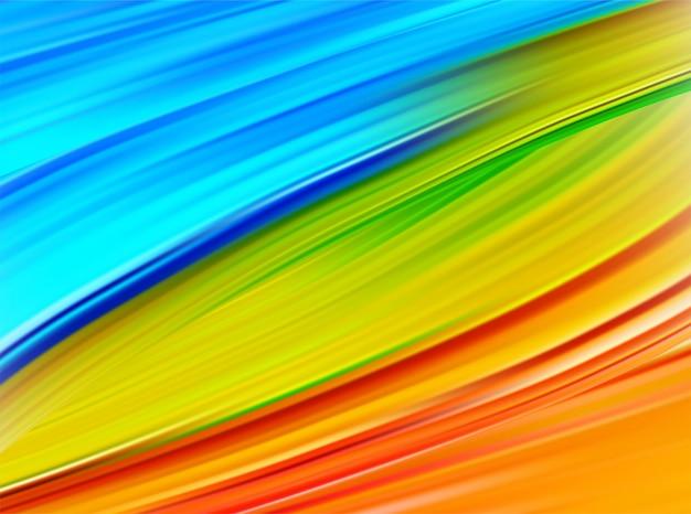 Яркий абстрактный фон с красочными вихревой поток.