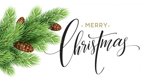 Открытка с новым годом и рождеством, векторные иллюстрации.