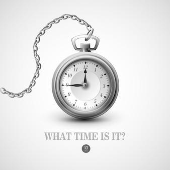 Антикварные часы иллюстрации