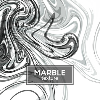Фон с нарисованными серыми волнами. мраморная текстура