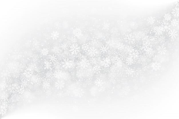 Эффект замерзшего стекла на белом фоне