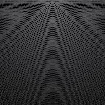 Вектор перфорированный металлический фон