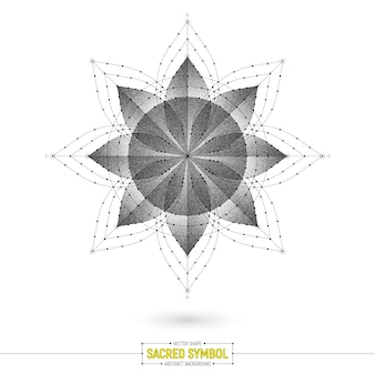 マンダラ難解な神聖なシンボル