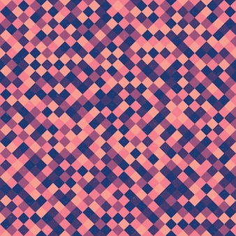 レトロなファンキーなベクトル繰り返しのシームレスパターン背景