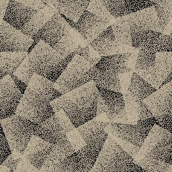 抽象的な点描シームレスパターン背景
