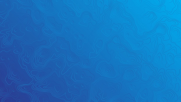 波線青い背景のベクトル