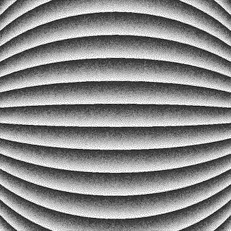 滑らかなラインのドットワークの背景