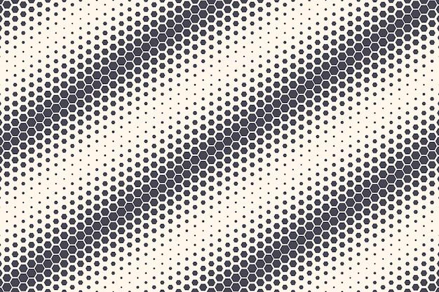 六角形パターンの抽象的な幾何学的な背景