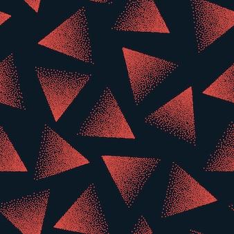 抽象的な点描のシームレスパターン