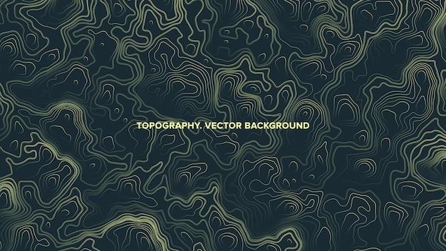 Топографическая карта рельеф абстрактный фон