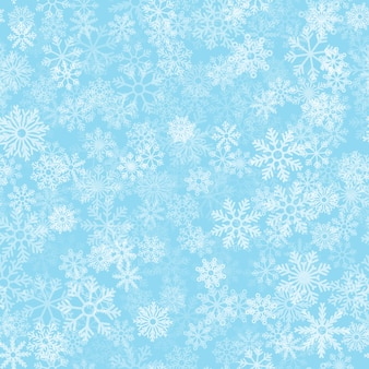 霜効果のシームレスパターン