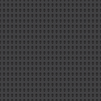 穴あき素材のシームレスパターン