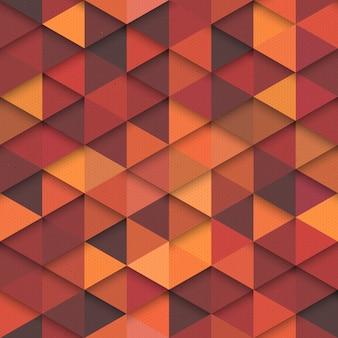 オレンジ色のファッションのシームレスパターン