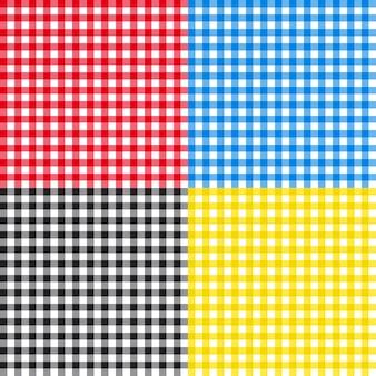 テーブルクロスのシームレスパターン