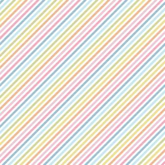 Радужные полосы бесшовные модели диагональной текстуры